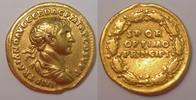 AV Aureus 107 AD Roman Empire / Römische K...