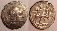 AR Denarius / Denar 190-189 BC Roman Repub...
