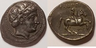 AR 1/5 tetradrachm / tetradrachme  Makedonien / Macedon Philipp II. 359... 475,00 EUR  +  12,00 EUR shipping