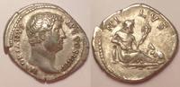 AR denarius / denar 134-138 AD Roman Empir...