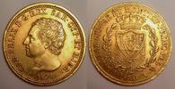40 Lire 1826 Torino Italy / Italien Sardin...
