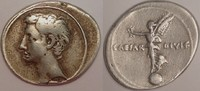 Denarius / denar 32-29 BC Roman Empire / R...
