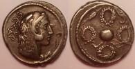 AR Denarius / Denar 56 BC Roman republic /...