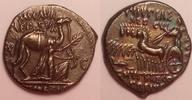 AR Denarius / Denar 58 BC Roman republic /...