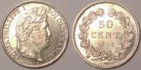 50 centimes 1846 W France / Frankreich Lou...