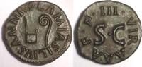 AE quadrans 9 BC Roman Empire / Römische K...