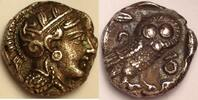 AR drachm / Drachme ca 353-294  Attica / A...