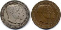 Silber- und Bronz- Medaillen 1920 Schweden...