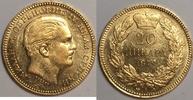 20 Dinara 1879 A Serbien / Serbia Milan Ob...
