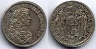 1/3 taler 1674 Pommern Karl XI. Vorzueglich+