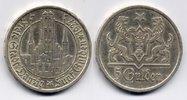 5 Gulden 1927 Danzig  sehr schön - vorzueg...