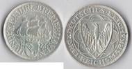 3 RM 1927 Deutsches Reich - Weimar Bremerh...