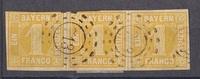 3x 1 Kreuzer 1862 Altdeutschland - Bayern ...