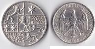 3 RM 1927 Deutsches Reich - Weimar Marburg...