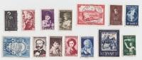 div. 1947-1956 Saarland Zusammenstellung g...