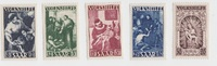div. 1949 Saarland Volkshilfe  kpl. Satz! ...