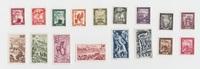 div. 1949-1951 Saarland Neue Dauerserie kp...