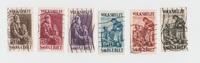 div. 1928 Saargebiet Volkshilfe gestempelt