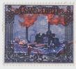 25 Mark 1921 Saargebiet Landschaften postf...