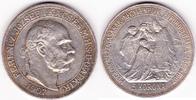 5 Korona 1907 Österreich-Ungarn Krönungsju...