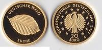 20 Euro 2011 G BRD, Deutschland Buche 1/8 ...