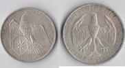 3 RM 1929 Deutsches Reich - Weimar Waldeck...
