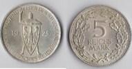 5 RM 1925 A Deutsches Reich - Weimar Rhein...