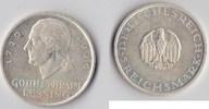 5 RM 1929 G Deutsches Reich - Weimar Lessi...