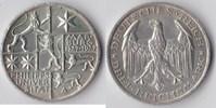 3 RM 1927 Deutsches Reich - Weimar Marburg vz