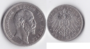 2 Mark 1896 Kaiserreich - Anhalt Friedrich...