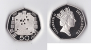 50 Pence 1993 England Elizabeth II PP-