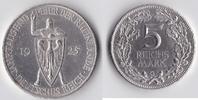 5 Reichsmark 1925 G Deutsches Reich - Weim...