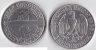 3 RM 1930 A Deutsches Reich - Weimar Zeppe...