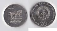 20 Mark 1975 DDR Johann Sebastian Bach vz-st