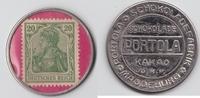 20 Pfennig  Deutsches Reich Schokolade Por...