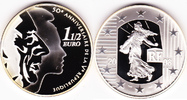 1,5 Euro 2008 Frankreich Fabulous 12 Silve...