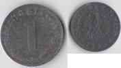 1 Reichspfennig 1946 G Alliierte Besetzung...