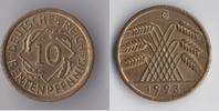 10 Rentenpfennig 1923 G Deutsches Reich - ...