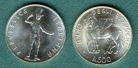 500 Lire 1985 Italien Jahr der Etrusker stgl.  17,90 EUR  +  5,90 EUR shipping