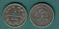 1 Markka 1866 Finnland Alexander II. f.ss  16,90 EUR  +  5,90 EUR shipping