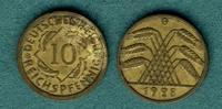 10 Reichspfennig 1928 G Weimarer Republik J.317 ss  99,00 EUR  +  6,90 EUR shipping