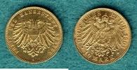 10 Mark 1901 A Lübeck Stadtwappen / Mit Ex...