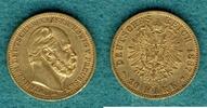 20 Mark 1887 A Preussen Wilhelm I. ss/vz  325,00 EUR  +  9,90 EUR shipping