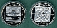 10 Hryven 2002 Ukraine Olympiade-Schwimmer PP  22,50 EUR  +  5,90 EUR shipping