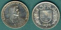 5 Franken 1926 Schweiz Alphirte f.vz  129,00 EUR  +  6,90 EUR shipping