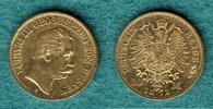 10 Mark 1872 H Hessen Ludwig III. ss/vz, Kratzer  389,00 EUR  +  9,90 EUR shipping