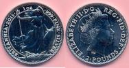 2 Pounds 2015 GROSSBRITANNIEN 2 Pounds 2015, Britannia, 1 Unze Silber, ... 24,00 EUR  +  6,00 EUR shipping