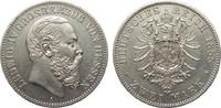2 Mark Hessen 1888 A Kaiserreich  gutes vo...