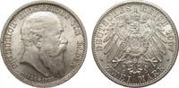 2 Mark Baden auf den Tod 1907 Kaiserreich ...