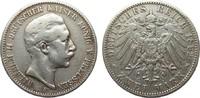 2 Mark Preussen 1892 A Kaiserreich  fast s...